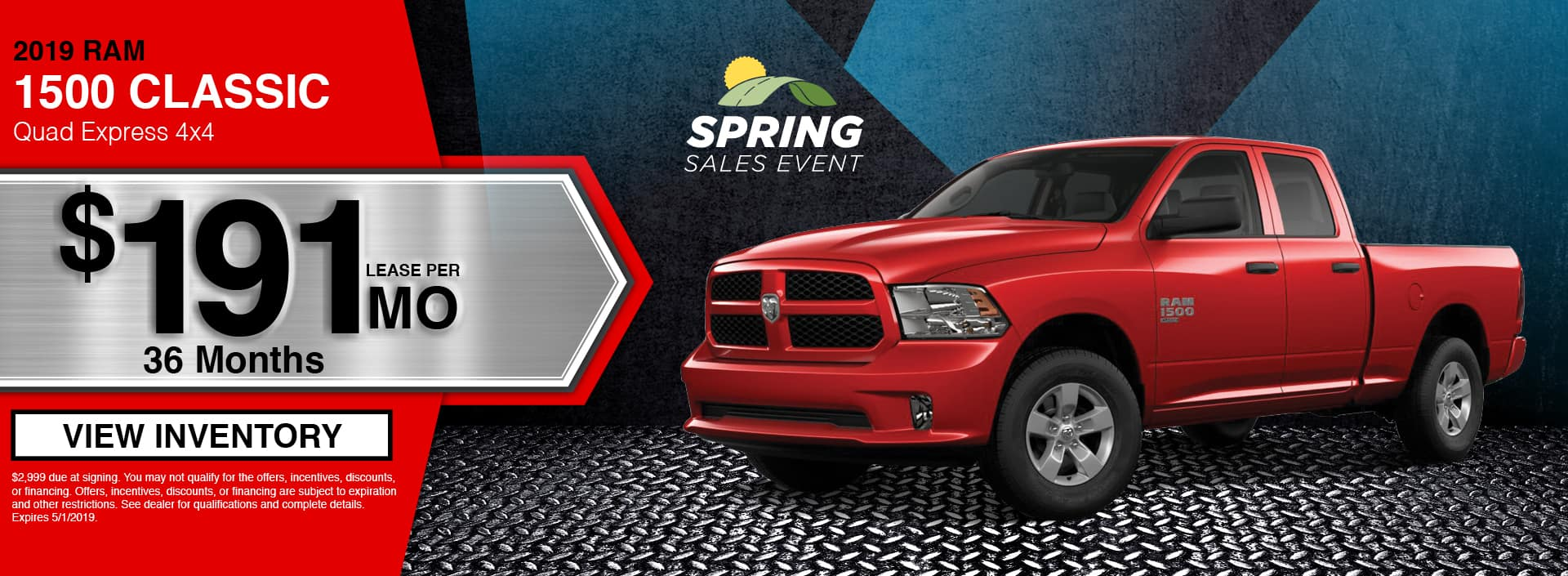 New 2019 RAM 1500 for Sale in Waseca, MN
