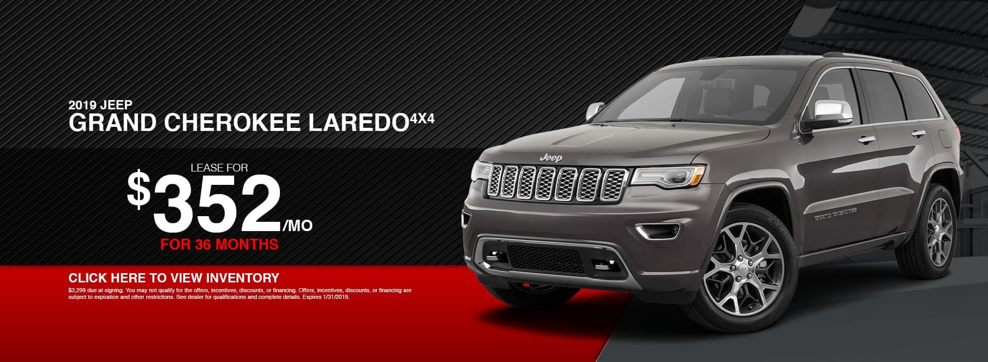 2019 Jeep Grand Cherokee Laredo Special in Waseca, MN
