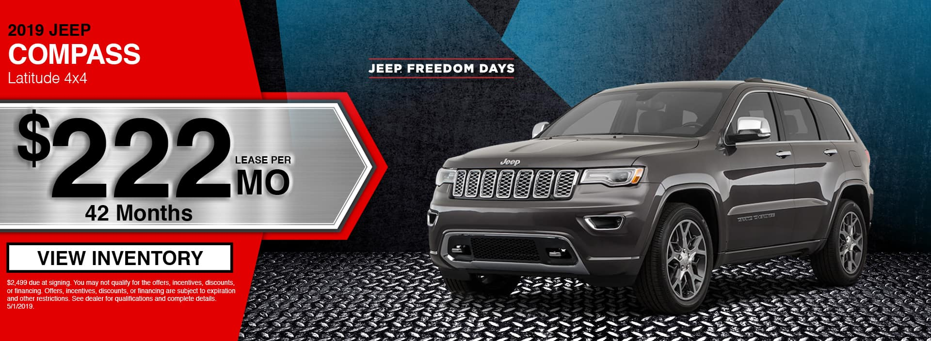 2019 Jeep Compass Latitude Special in Waseca, MN