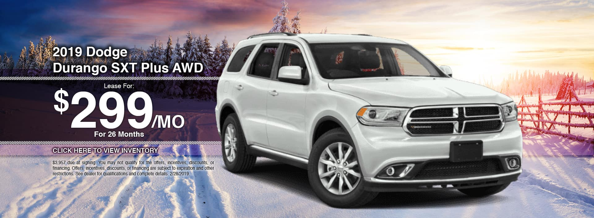 New 2019 Dodge Durango for sale in Waseca, MN