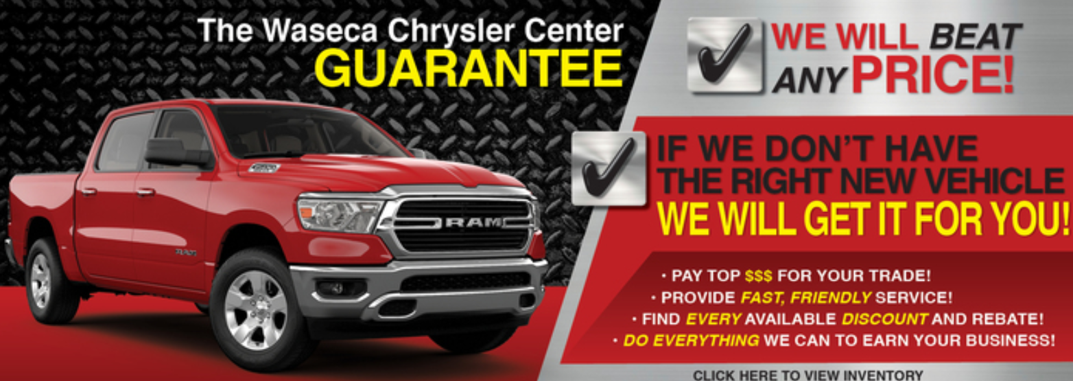 The Waseca Chrysler Center Guarantee