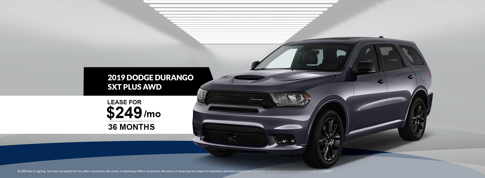 2098 Dodge Durango SXT Plus AWD Lease Special at Waseca Dodge in Waseca, MN
