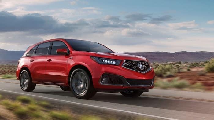 2019 Acura ASPEC MDX on Road