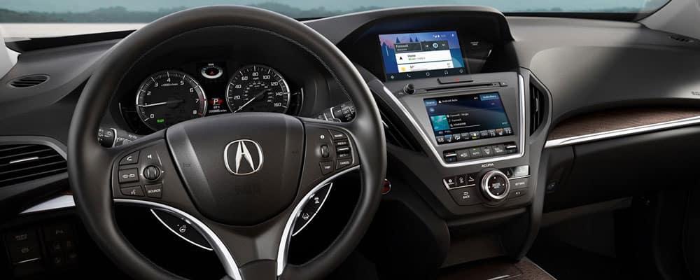 2019 Acura MDX Interior Driver View