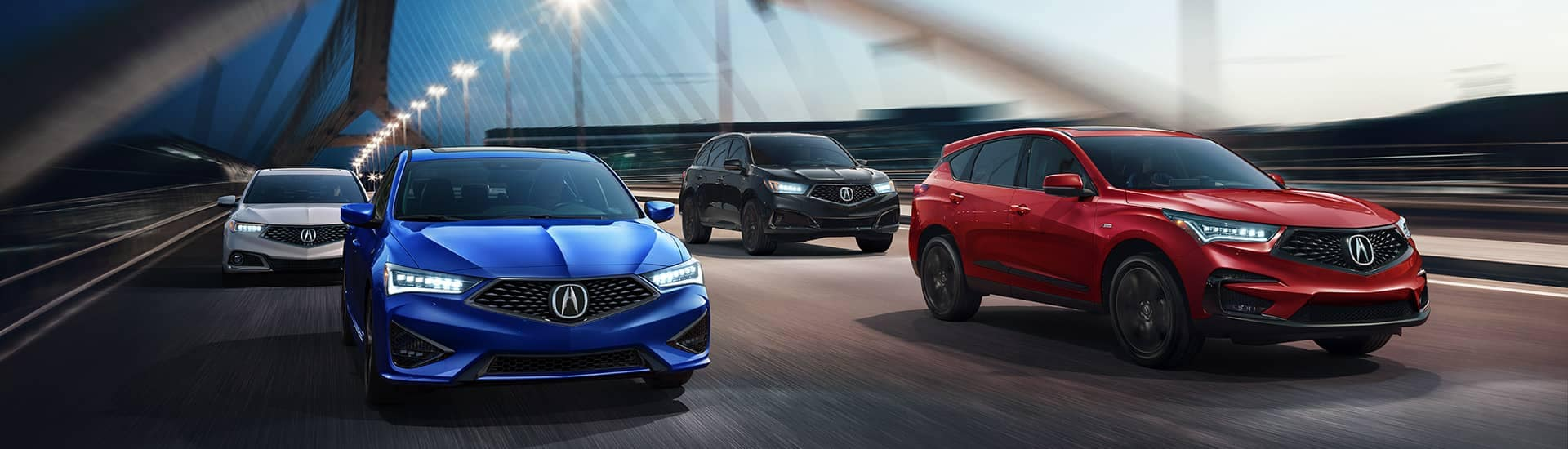2019 Acura models on bridge