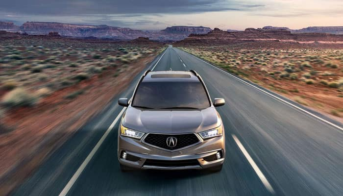 2020 Acura MDX Driving on Road