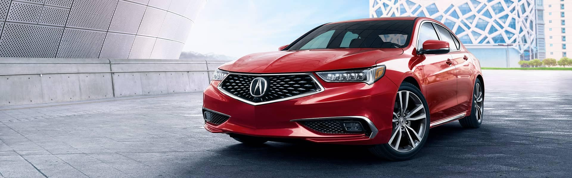 2020 Acura TLX in San Marino Red