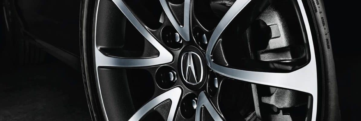 Acura tire brand banner