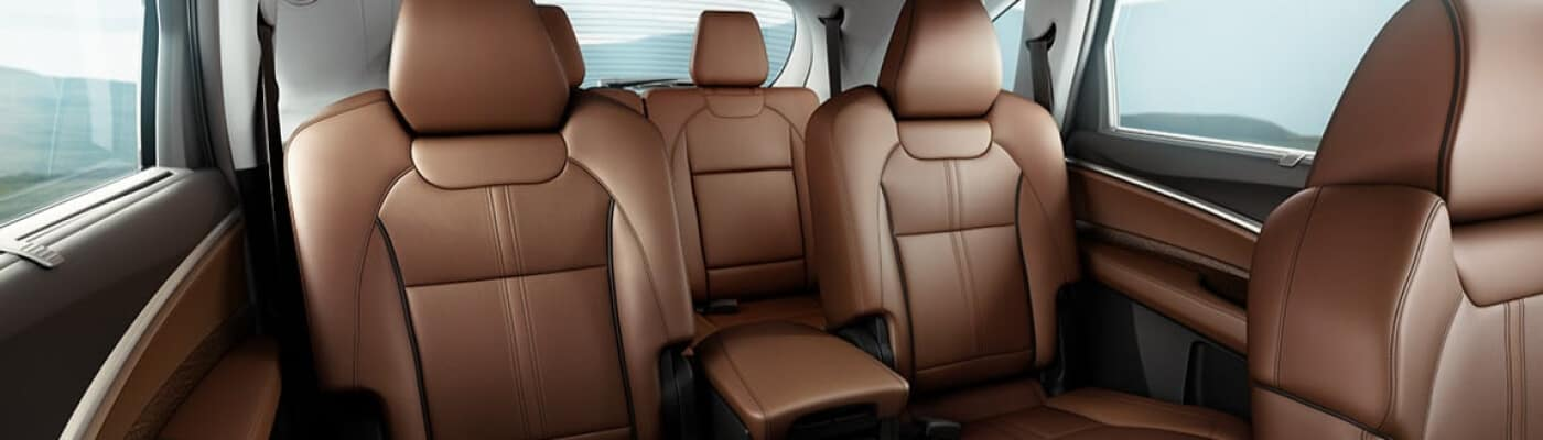 Acura Leather Car Seats Interior