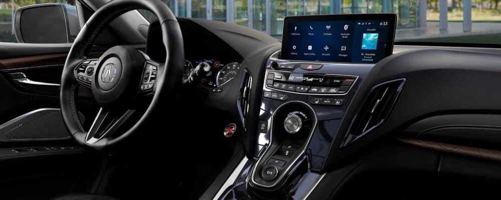 2021 Acura RDX interior dashboard