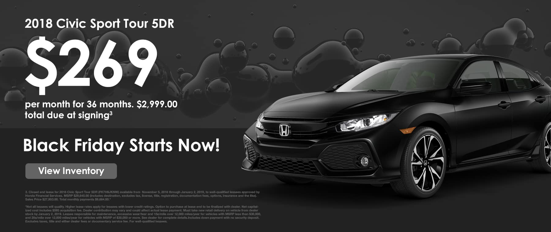 Lease a Civic Sport
