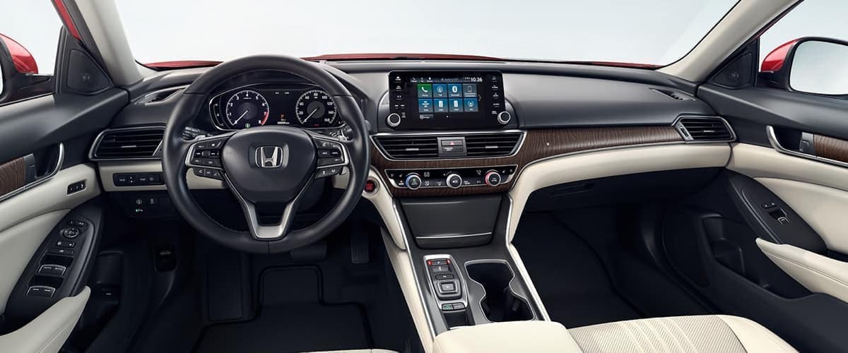 2019 Honda Accord Sedan front interior