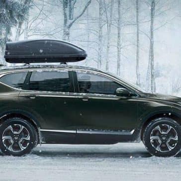 2019 Honda CR-V Parked in Snow