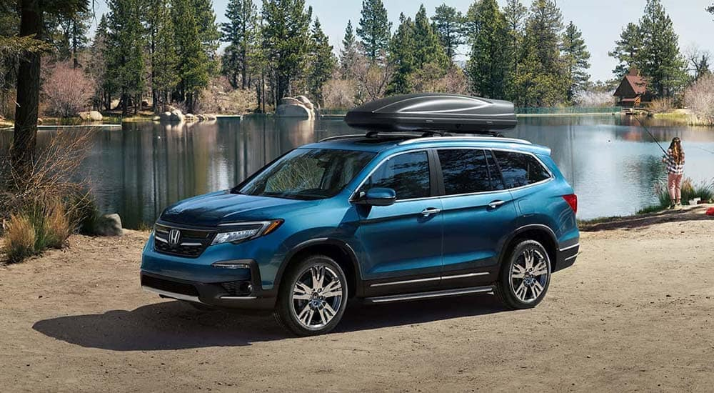 2019 Honda Pilot Parked at Lake