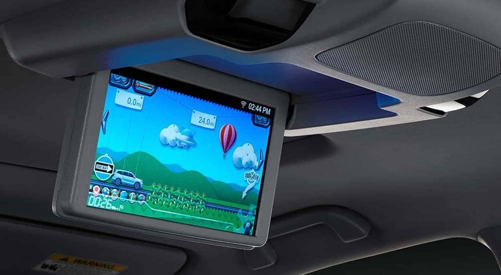 2019 Honda Pilot Rear Entertainment System
