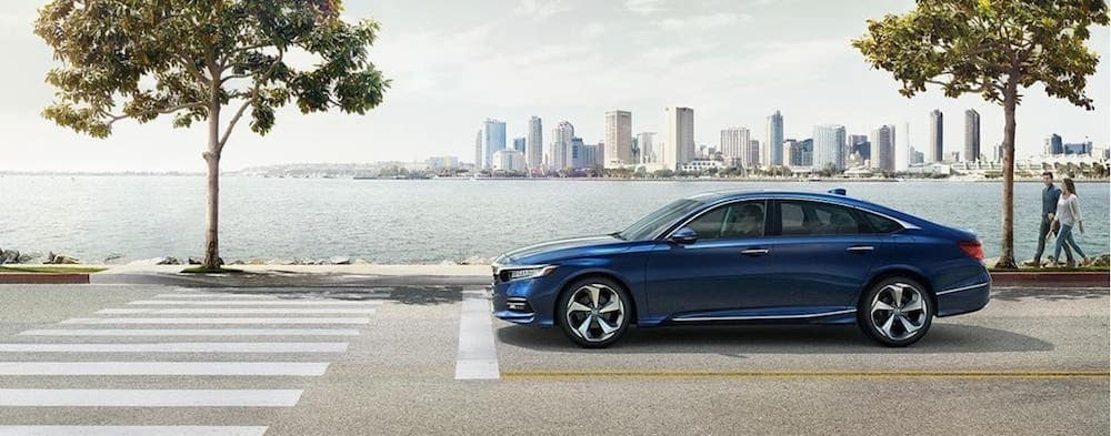 Blue 2019 Honda Accord