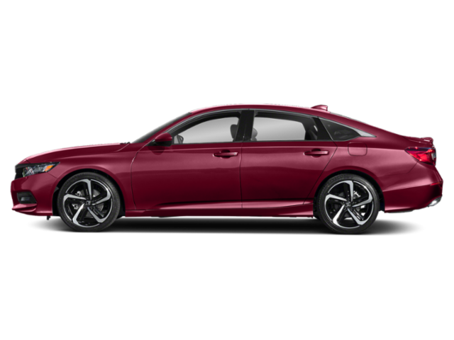 Maroon 2019 Honda Accord Sport