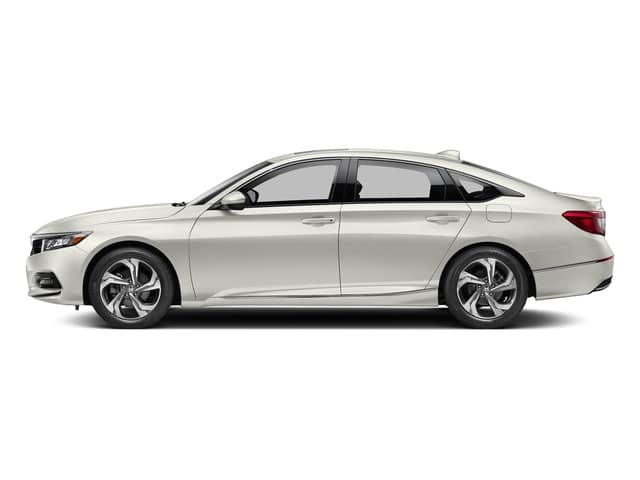 White 2018 Honda Accord EX