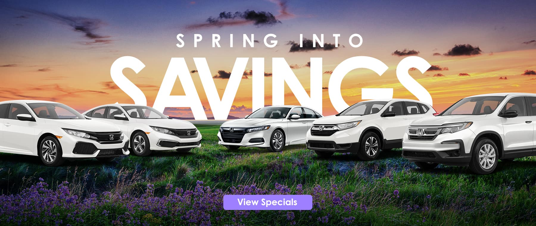 Spring Into Savings Banner