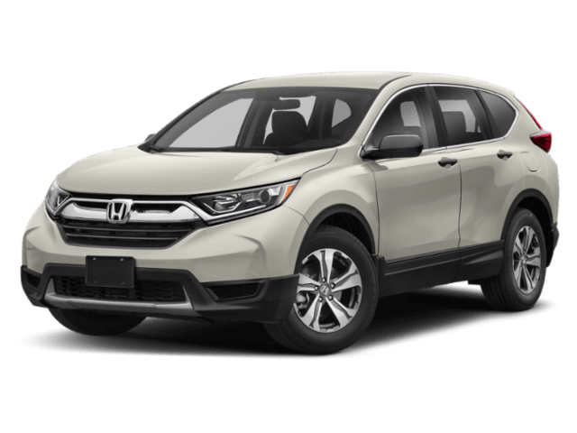 Exterior comparison picture of a 2019 Honda CR-V