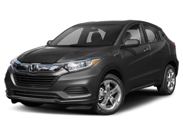 Exterior comparison picture of a 2019 Honda HR-V