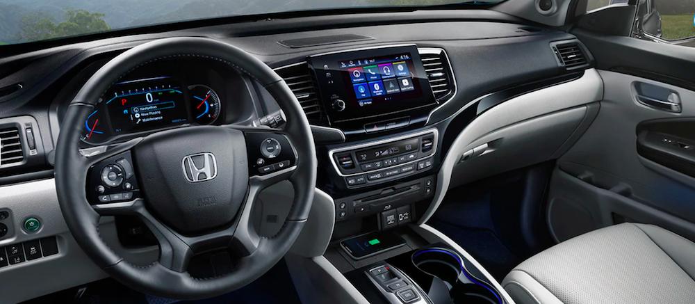 2019 Honda Pilot Interior Cockpit View