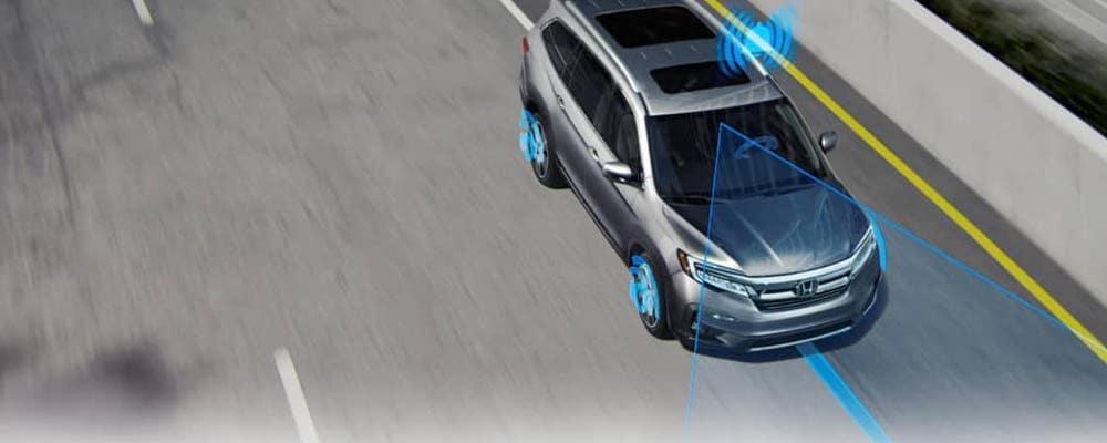 2019 Honda Pilot Sensing Banner