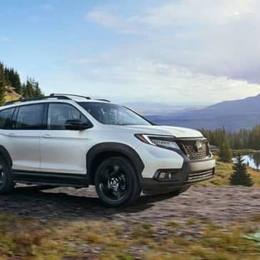 2020 Honda Passport In The Wilderness