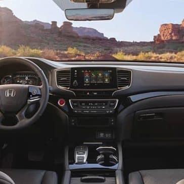 2020 Honda Passport Dash