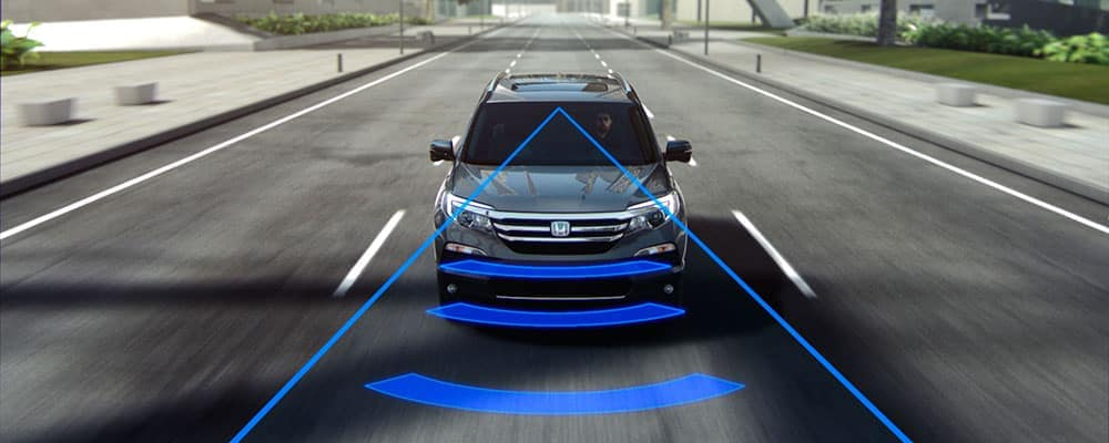Honda Collision Warning