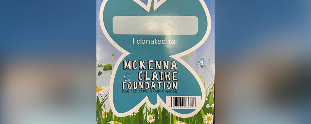 McKenna Claire Foundation butterfly