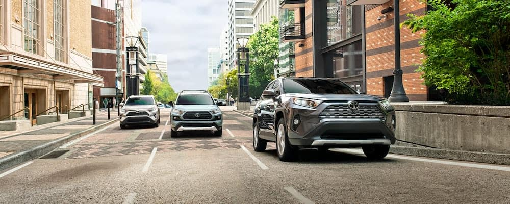 2019 toyota rav4 on roads