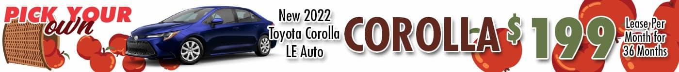WBT Corolla Sept 21 INV