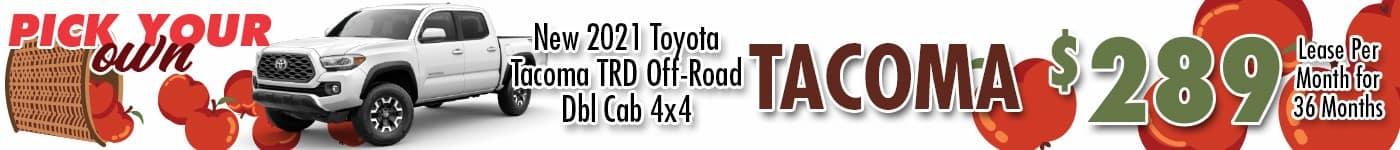 WBT Tacoma Sept 21 INV