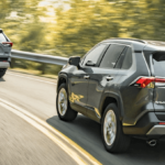 2020 Toyota RAV4 driving miles on highway