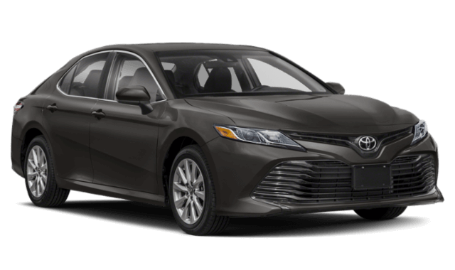 2020 Toyota Camry LE trim level black