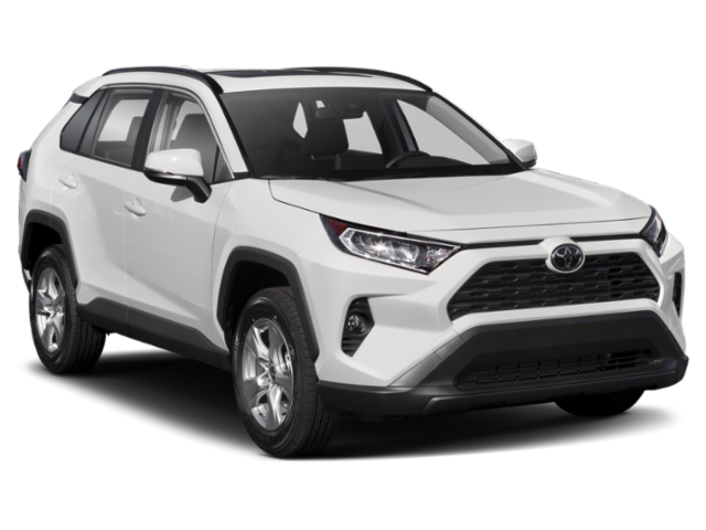 2020 Toyota RAV4 front view for comparison