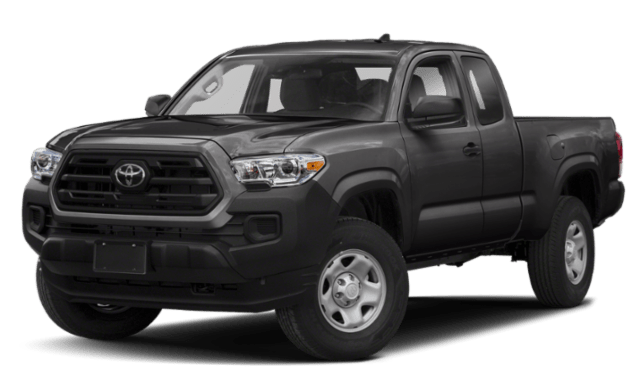 2020 Toyota Tacoma frontview comparison thumbnail