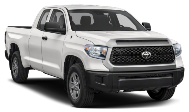 2020 Toyota Tundra front view comparison