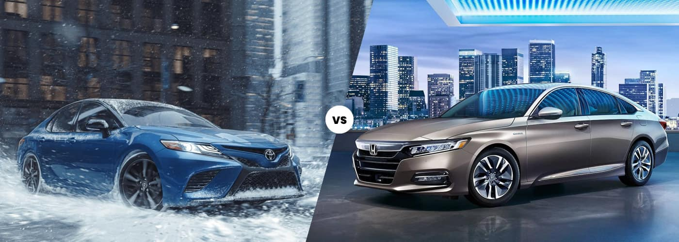 2020 Camry Hybrid vs. 2020 Honda Accord Hybrid