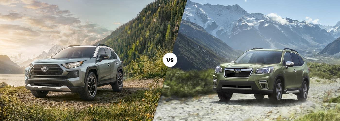 2020 Subaru Forester vs. 2020 Toyota RAV4