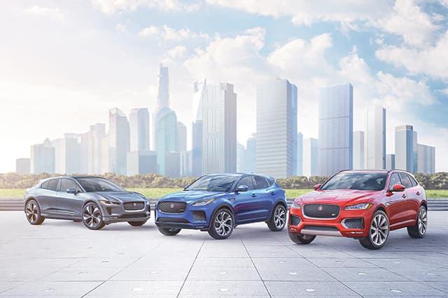 All New 2019 Jaguar Models
