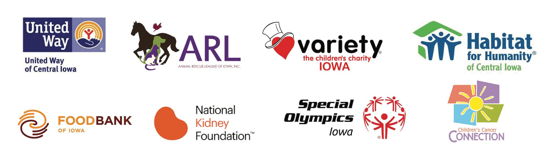 Community Support Logos