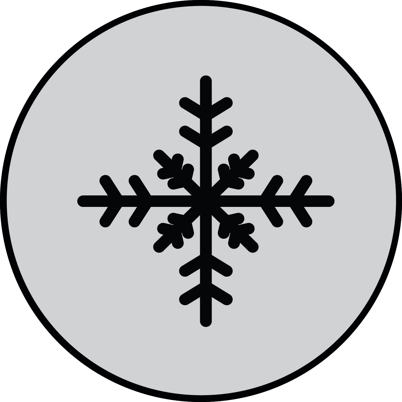 Holidays Circle Graphic