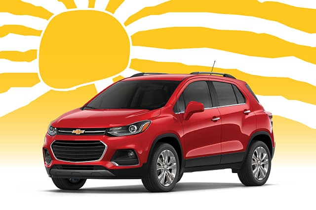 New 2020 Chevrolet Equinox, Trax, Sonic or Spark