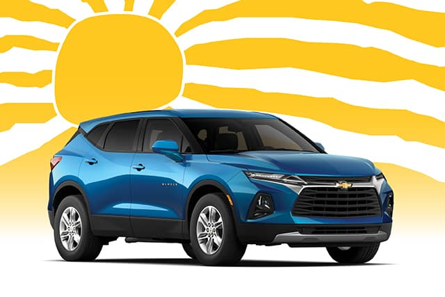 New 2020 Chevrolet Blazer