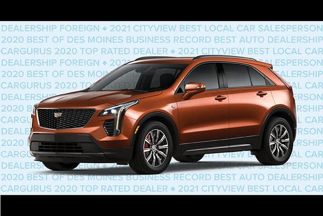 New 2021 Cadillac XT4 Luxury