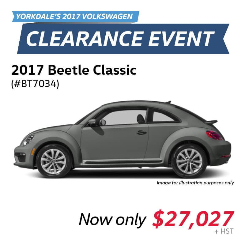 2017 Clearance Event: Beetle Classic