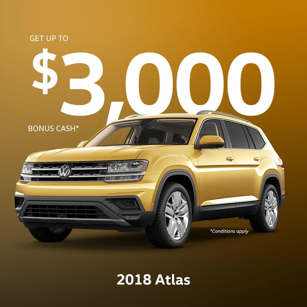 2018 Atlas Incentive
