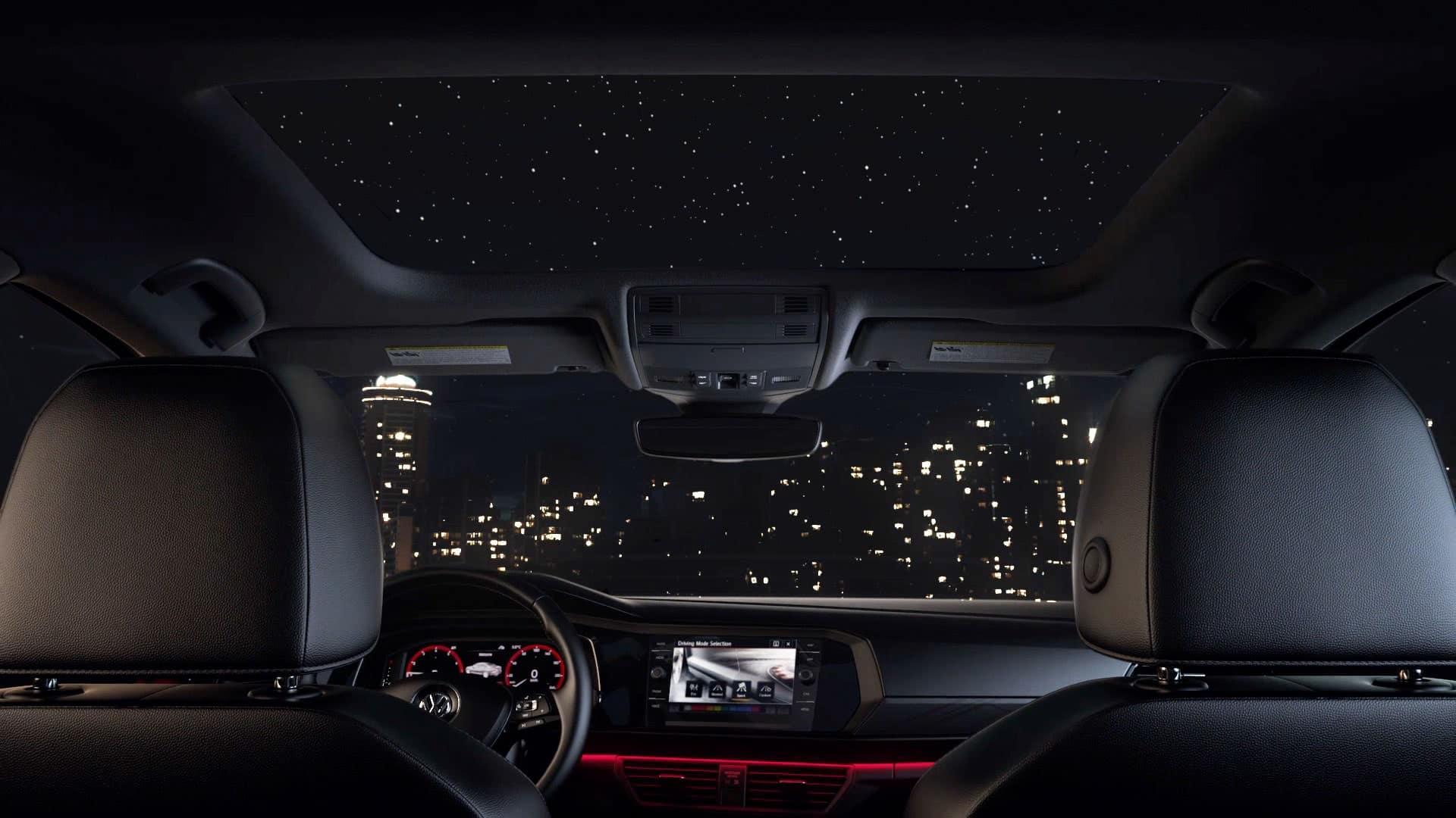 VW Jetta Panoramic Sunroof